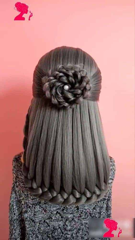 Floral amazing straight style