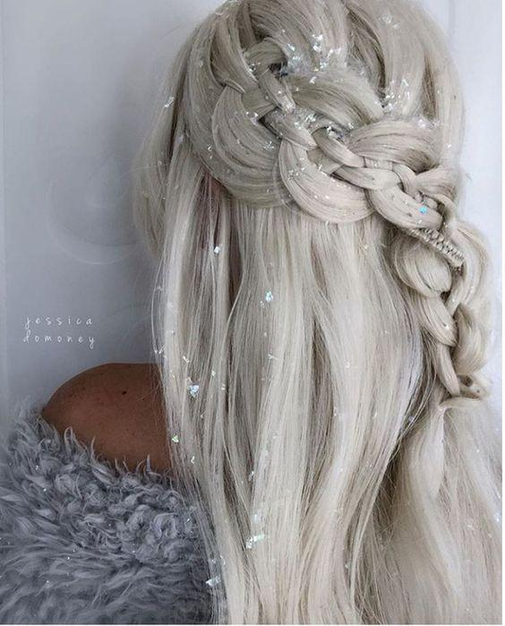 Gorgeous loose braid