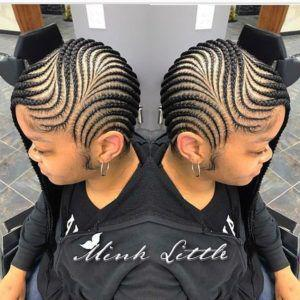 Shock waves inversion braids