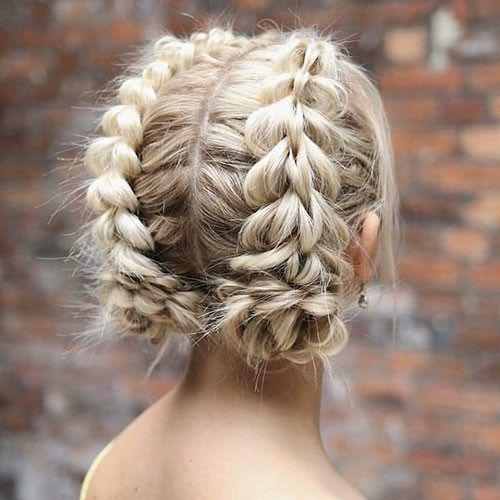 Short French braid