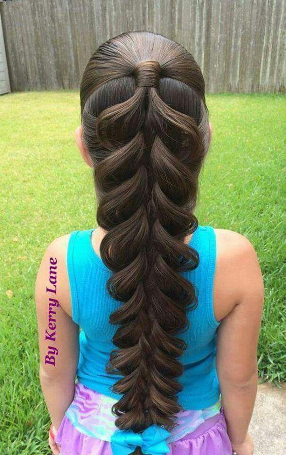 Voluminous beginner-friendly fishtail hair