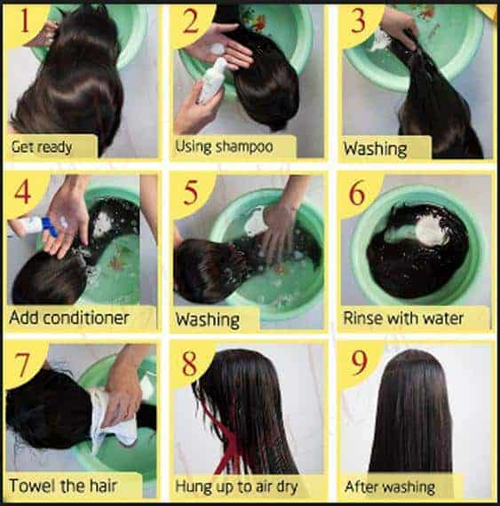 How to Wash A Wig