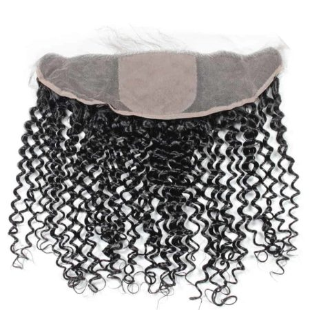 13x4 kinky curly silk frontal brazilian hair1