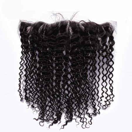 13x4 kinky curly silk frontal brazilian hair2