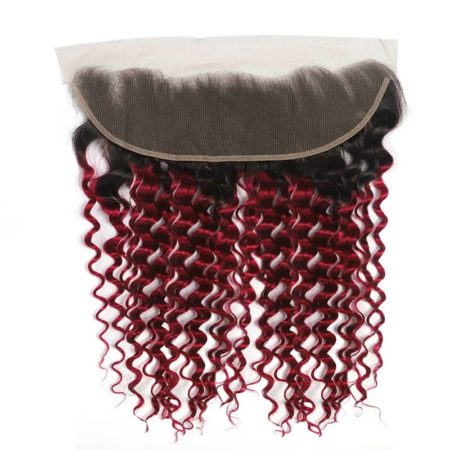 1b red deep wave 13x4 lace frontal2