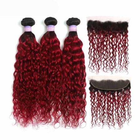 1b red wet and wavy 3 bundles with frontal1