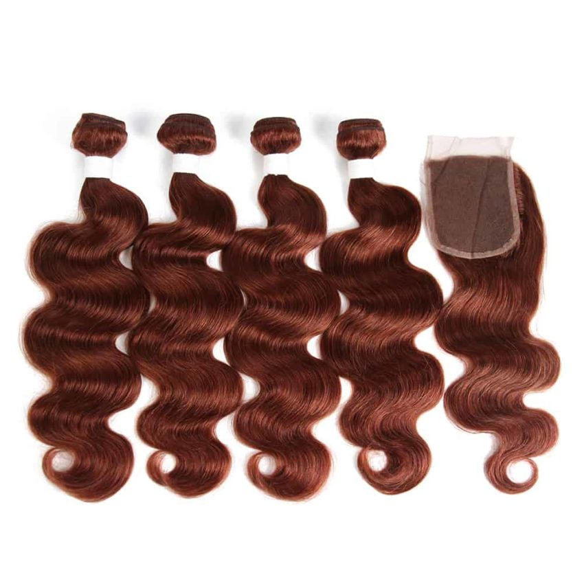 33 body wave 4 bundles with closue