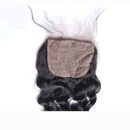 4x4 Silk Base Closure Loose Wave2