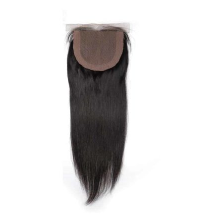 4x4 Silk Base Closure peruvian straight