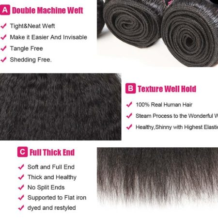 Brazilian Kinky straight hair wholesale2
