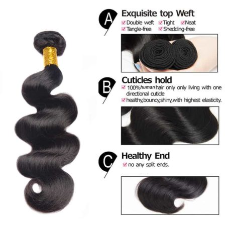 Brazilian hair Body wave 5 bundles2