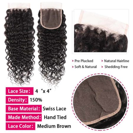 Brazilian water wave bundles with closure des1