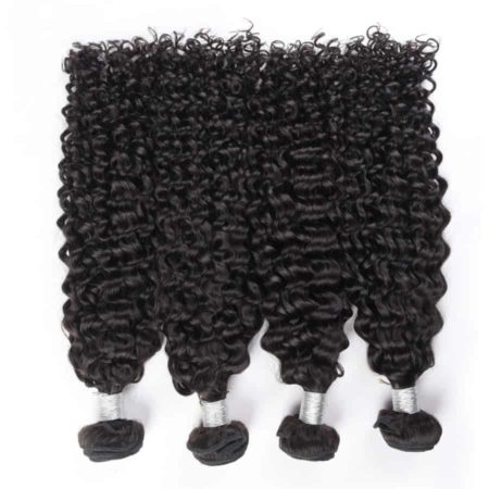 Curly peruvian hair bundles des1