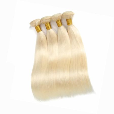 blonde hair straight 4 bundles1