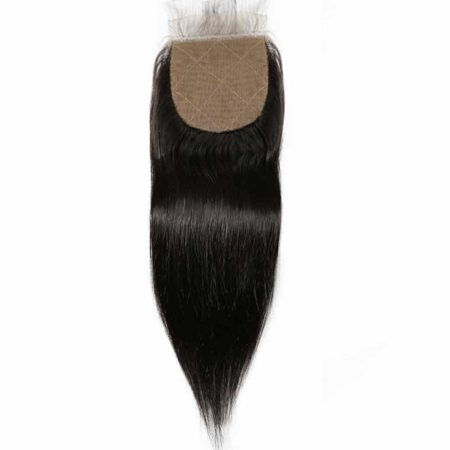 brazilian straight silk closure hair