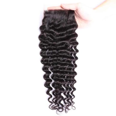 deep 4x4 wave hair closure2