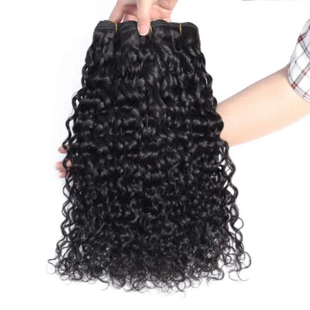 indian hair wet and wavy bundles des1