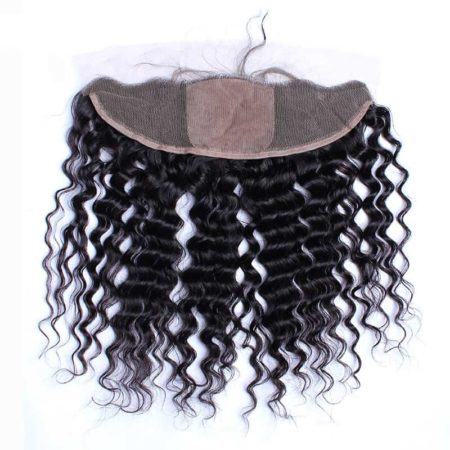 malaysian silk Deep Wave frontal 13x4 1
