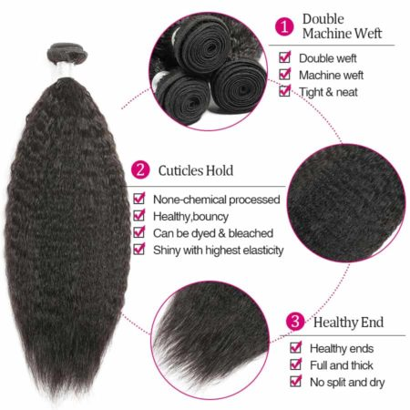 peruvian Kinky straight hair wholesale2