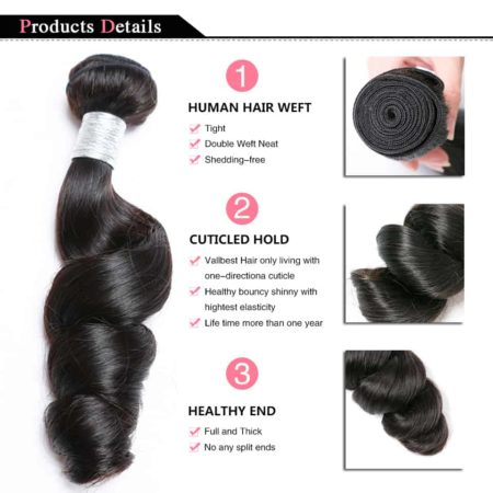 peruvian loose wave hair bundles1
