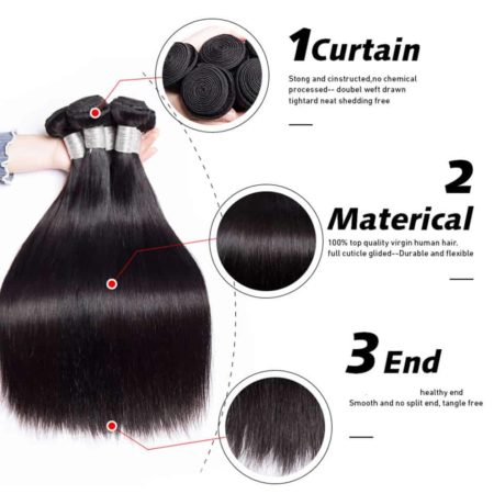 peruvian straight hair bundles1