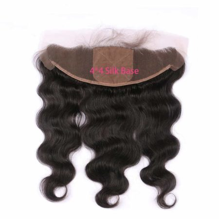 silk body wave closure peruvian 13x4 1