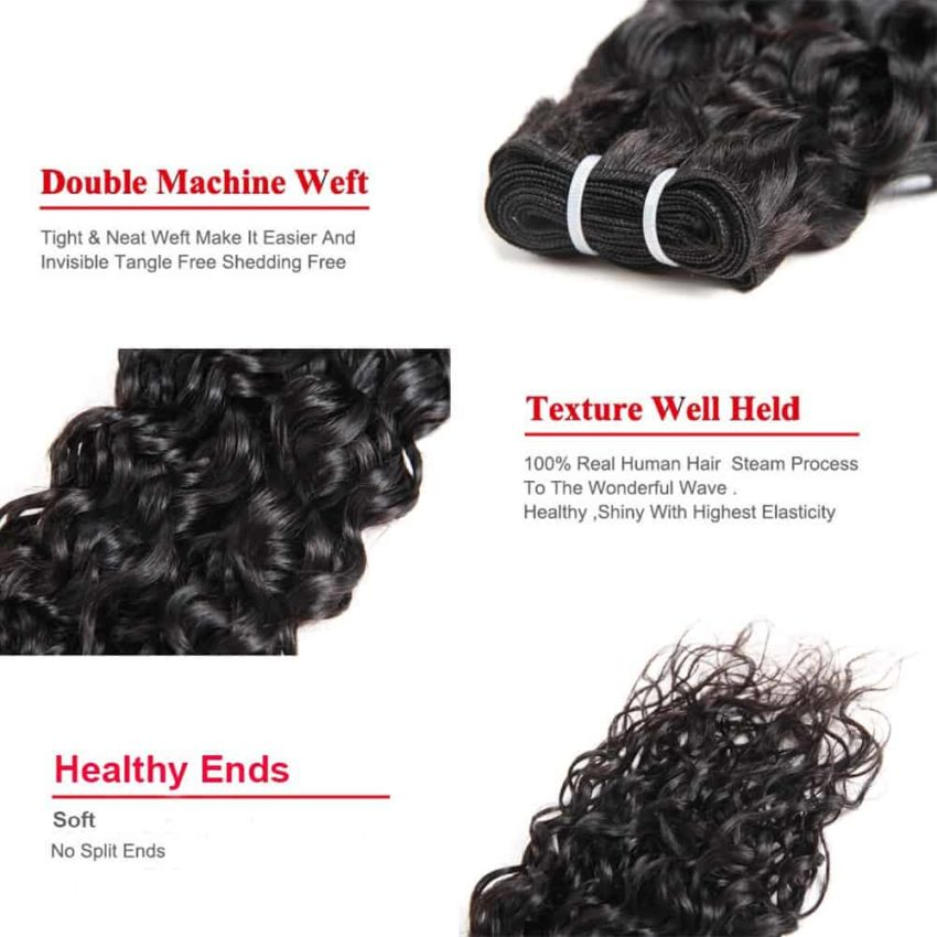 wet and wavy indian hair bundles5