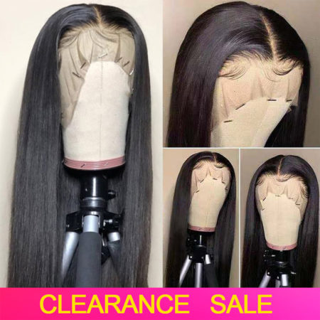 Brazilian hair 13x4 straight wig