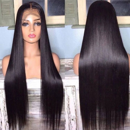 Brazilian hair 13x6 straight wig