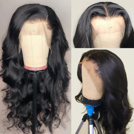 Brazilian hair 4x4 body wave wig