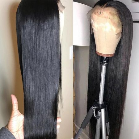 Brazilian hair 4x4 straight wig