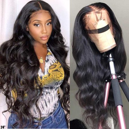 Brazilian hair 5x5 body wave wig