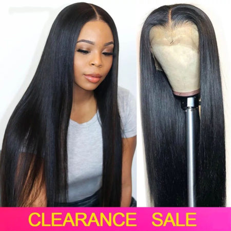 Brazilian hair 5x5 straight wig