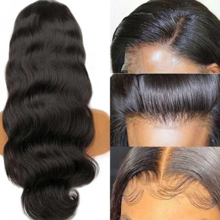 Brazilian hair 6x6 body wave wig