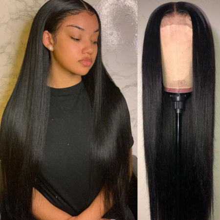 Burmese hair 13x4 straight wig