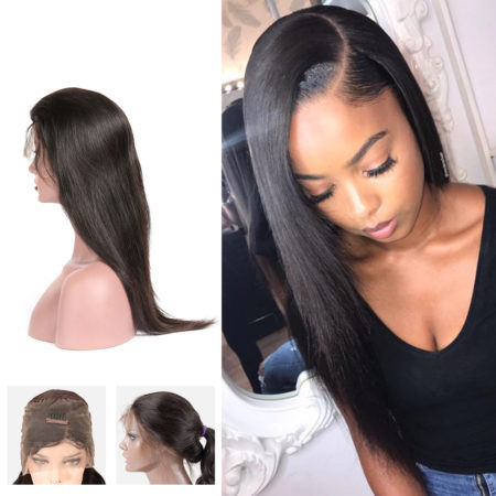 Burmese hair 13x6 straight wig