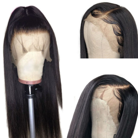 Burmese hair 5x5 straight wig