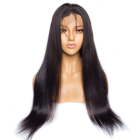 Burmese hair 6x6 straight wig