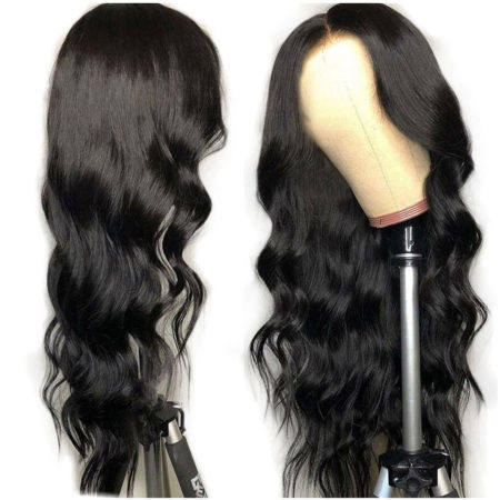 European hair 360 lace body wave wig