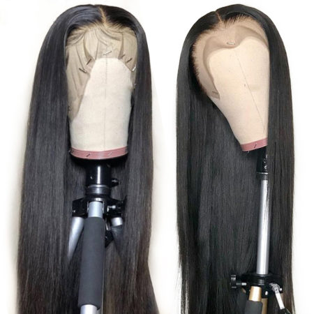 European hair 4x4 straight wig
