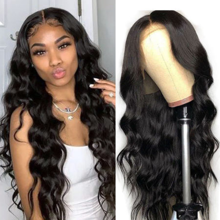 European hair 5x5 body wave wig