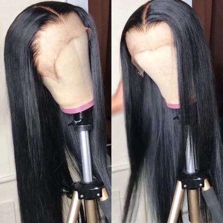 European hair 5x5 straight wig