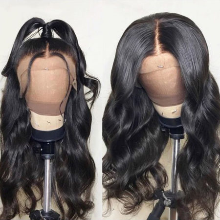 European hair 6x6 body wave wig