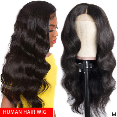 European hair full lace body wave wig
