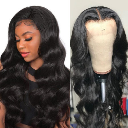 Indian hair 13x6 body wave wig