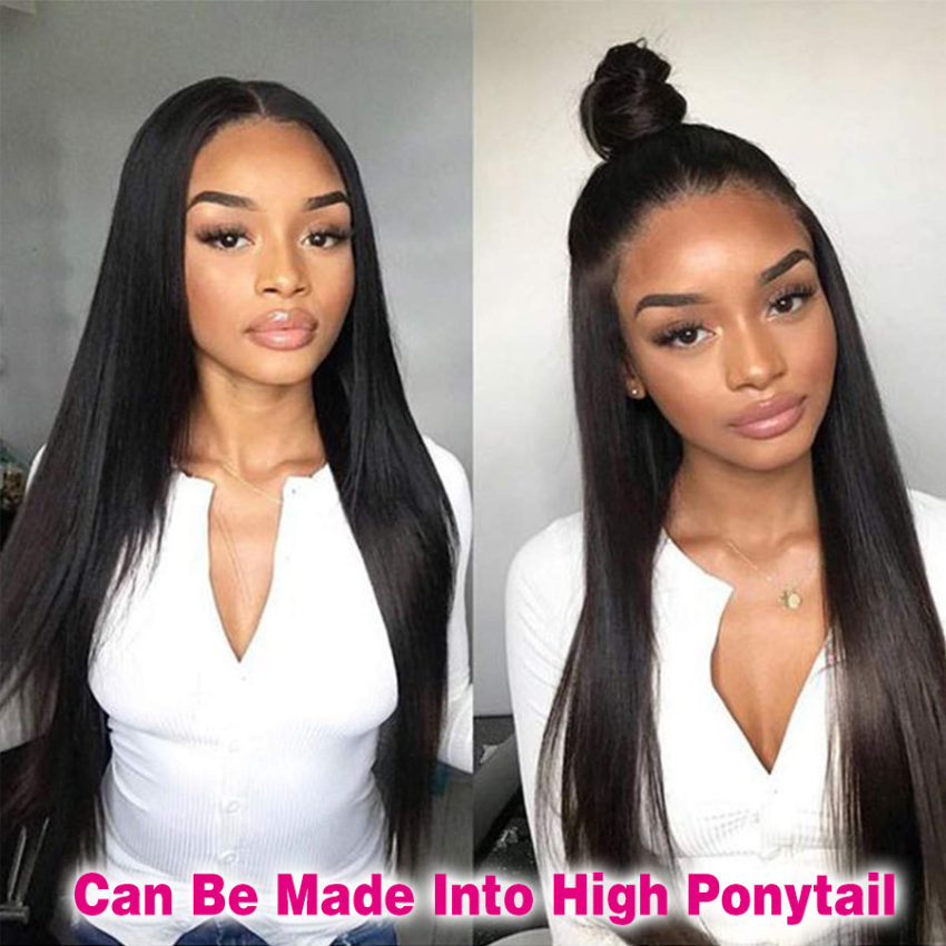 Indian hair 13x6 straight wig