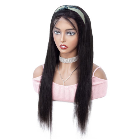 Indian hair 4x4 straight wig