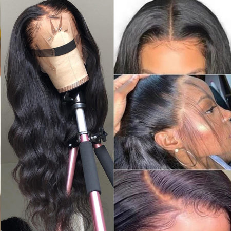 Indian hair 5x5 body wave wig