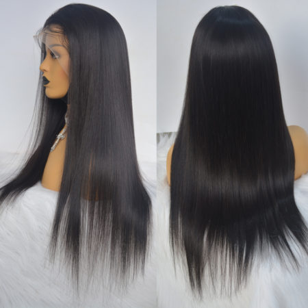 Indian hair 6x6 straight wig