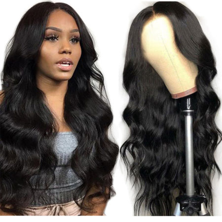 Malaysian hair 13x6 body wave wig